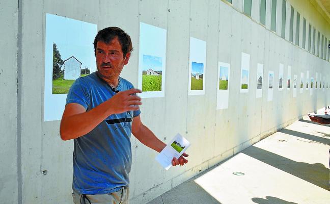 Asier Gogortzaren 'Mendebalde' erakusketa ikusgai museoko atarian