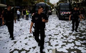 Los tribunales investigan a 72 Mossos d'Esquadra por las actuaciones del 1-O