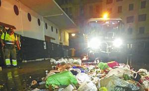 Un centenar de operarios se encargarán de la limpieza durante la Aste Nagusia