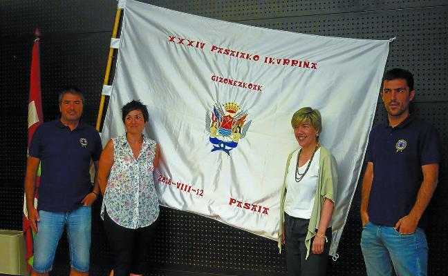 El club Sanpedrotarra celebrará este domingo la Bandera de Pasaia