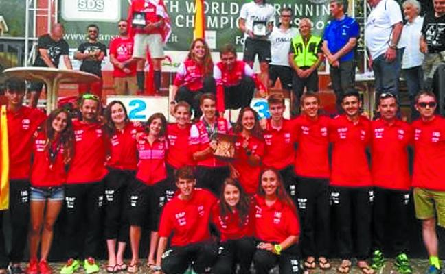 Irati Zubizarreta logró el cuarto puesto en el mundial de skyrunnig