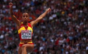 Ana Peleteiro, bronce en triple salto