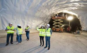 Las obras de Belate y Almandoz avanzan según los plazos de ejecución previstos