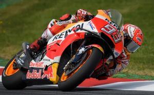 Márquez y las Ducati cumplen con el guión previsto