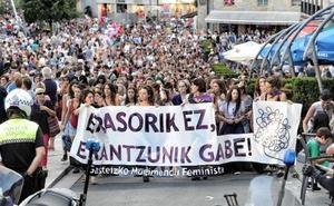 Las fiestas de La Blanca de Vitoria se cierran con un quinto detenido por abuso sexual