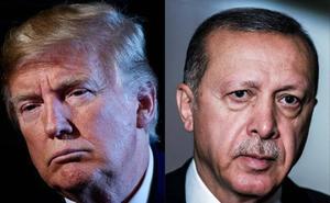 Trump dobla los aranceles a las importaciones turcas de aluminio y acero por el desplome de la lira