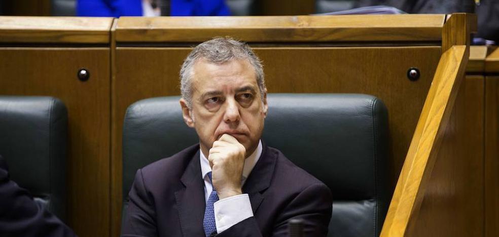 Urkullu denuncia que la defensa del alejamiento de presos «es ajena a la legalidad»