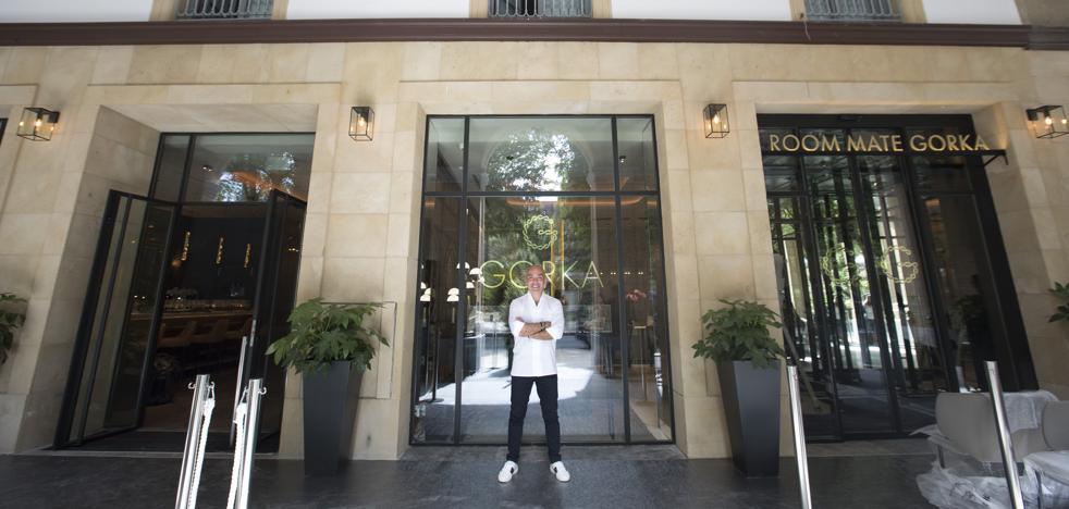 Kike Sarasola: «Es el hotel más bonito de la cadena; no me importaría tener dos o tres en esta ciudad»
