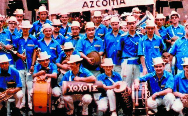 Estos Andramaris la Txaranga Xoxote cumpliría 50 años