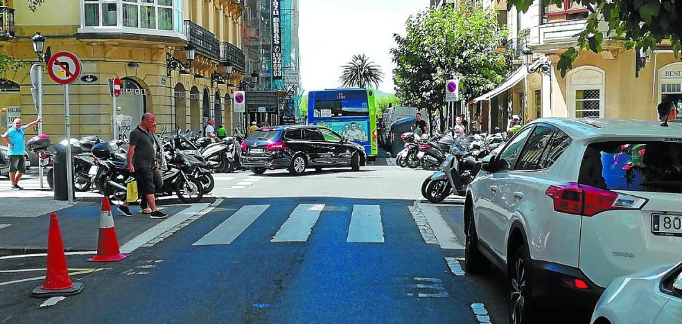 La campaña contra los baches llegará a 57 calles donostiarras