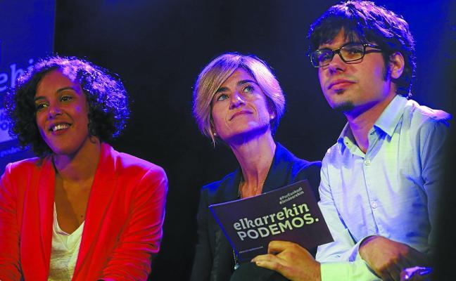 Podemos, en busca de un cartel electoral para Euskadi