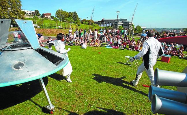 Girabira abre la temporada en el parque de Soroxarta