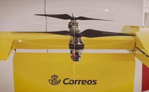 Pakete banaketa drone bidez egiteko frogak egiten ari da Correos