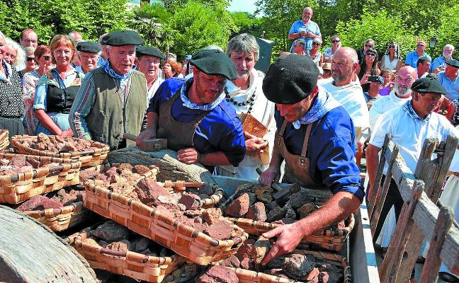 El hierro de Bizkaia llega a Urdax