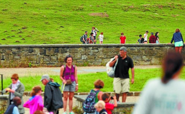 Aumenta el número de turistas que eligen Oarsoaldea como destino en sus vacaciones
