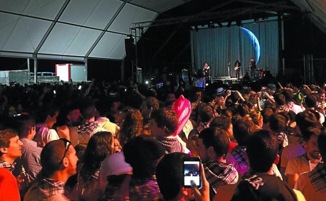 El plazo para solicitar la instalación de una txosna en fiestas se cerrará el jueves