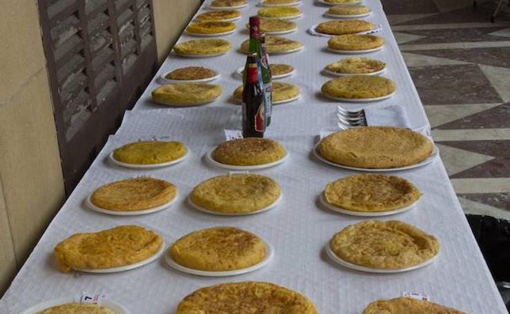 El concurso de tortilla de patatas, todo un éxito