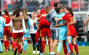 España sufre para estar en cuartos y deja fuera a EE UU