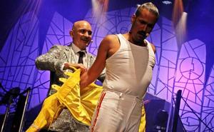 Suspendidas algunas funciones de 'Solo Fabiolo Glam Slam' y 'We love Queen' en San Sebastián