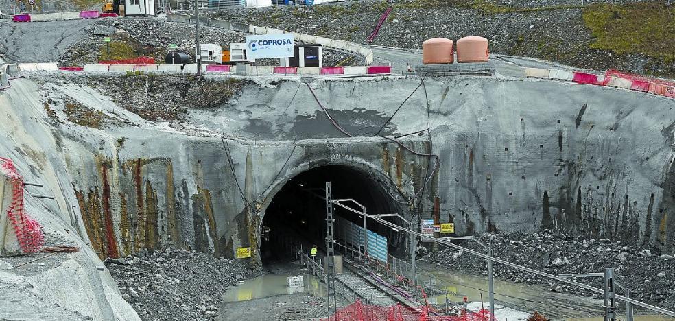 Las obras del TAV en Gaintxurizketa se licitarán de nuevo tras seis meses paradas