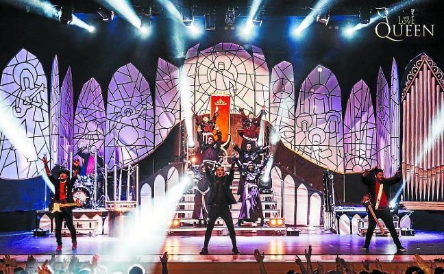 Una comunión en escena con Queen