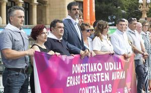 Donostia «no dará un paso atrás» en la lucha por la libertad de las mujeres