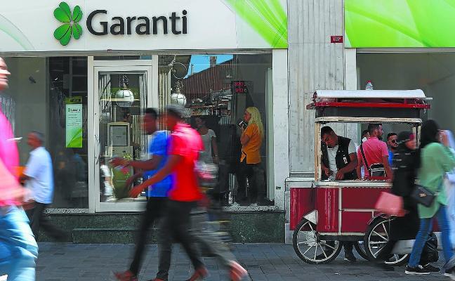 La crisis de Turquía estalla en un momento de crecientes ventas de Euskadi al país