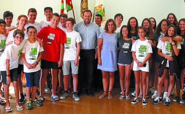 Reconocimiento a los voluntarios del programa Hondar Kirolak