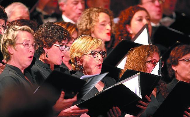 La Coral Andra Mari actuará el próximo sábado dentro de la Quincena Musical donostiarra