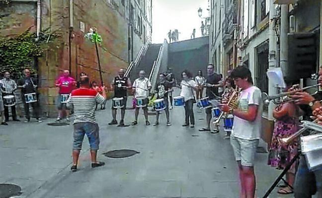 Los tambores volverán a retumbar en las fiestas de Ama Xantalen