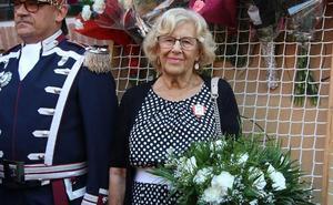 Carmena considera que los manteros «no son un problema» para Madrid