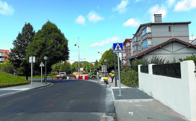 Un nuevo tramo de bidegorri conectará Letxunborro con la calle Burniola
