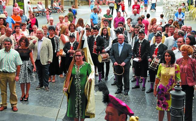 Mucha música en el ecuador de las fiestas de Azkoitia