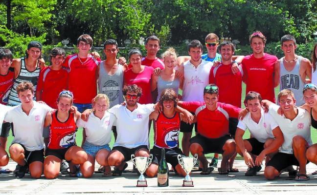 Santiagotarrak cierra en el tercer puesto la Liga de Ríos y Maratón