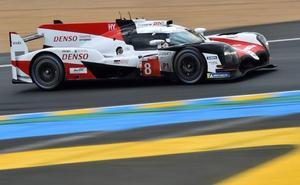 Alonso vuelve al 'tajo' con Toyota
