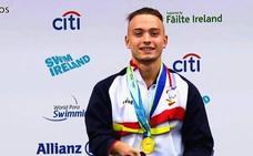 Iñigo Llopis, oro en los 400 libres del campeonato de Europa de natación adaptada