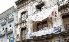 Desalojado el gaztetxe 'Maravillas' de Pamplona