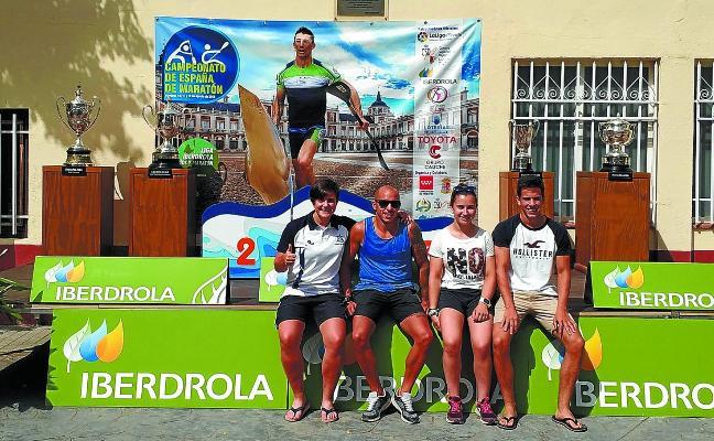 Éxito en el Campeonato de España de maratón de aguas tranquilas