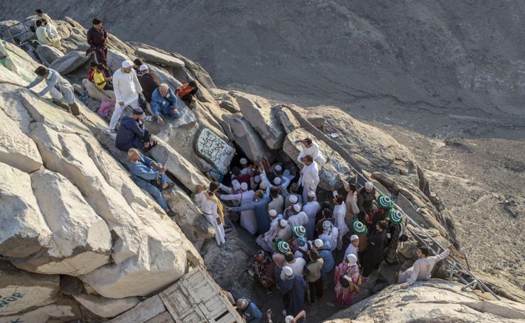 Multitudinaria peregrinación anual a La Meca