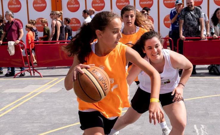 El baloncesto, una de las claves en el programa de Semana Grande