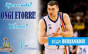 El GBC confirma el fichaje de Beqa Burjanadze
