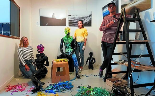 Residuos transformados en arte