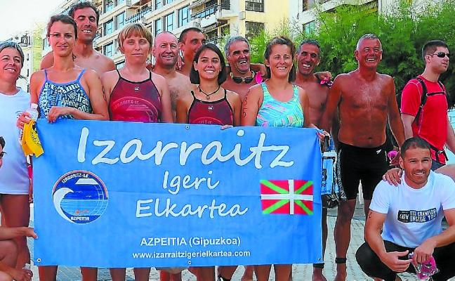 Uxoa Etxeberria hizo podio en la Travesía del Paseo Nuevo