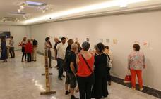 La exposición '18 cm' consigue reunir 45 obras en su primera convocatoria