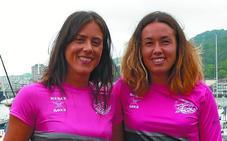 Irene Arbeo y Laura Goldarazena, bateleras de San Juan Iberdrola: «Sería una pena que el equipo se disolviera a final de temporada»