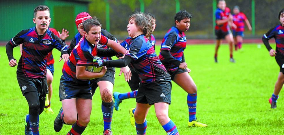 Entrenamientos de los equipos del Eibar Rugby