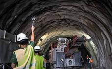 La obra de los túneles del Metro acelera y se perfora ya las 24 horas