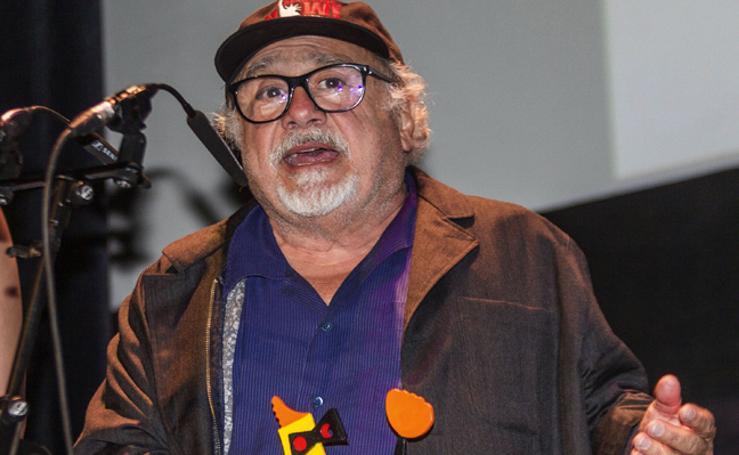 Danny DeVito se lleva el premio Donostia del Zinemaldi