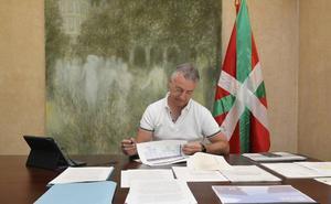 Urkullu prepara las directrices presupuestarias para el primer Consejo de su Gobierno del 28 de agosto