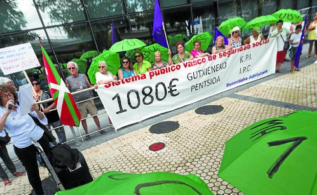 Movilización masiva en Bilbao y paréntesis de dos semanas en Donostia